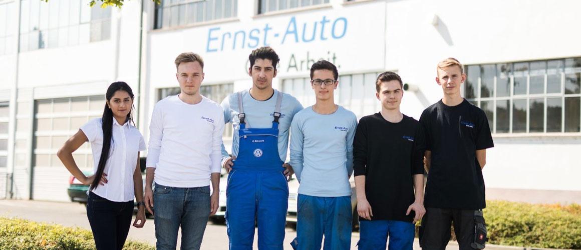 Personen von Ernst Auto